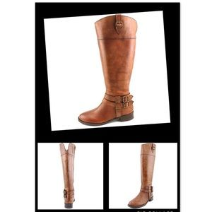 INC International Concepts Fahnee Riding Boots 7.5